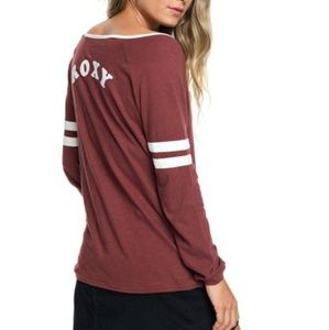 NWT! Roxy Let's Do That Long Sleeve Top